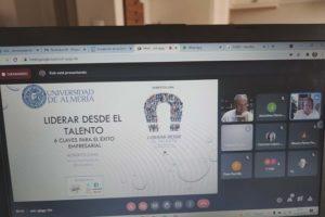 Roberto Luna da las claves para 'Liderar desde el talento' en la UAL