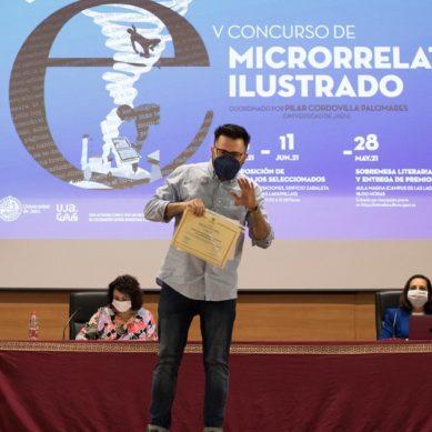 La UJA entrega los premios del Certamen de Microrrelato Ilustrado
