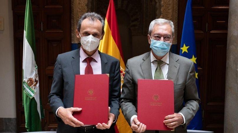 El Gobierno y la Junta de Andalucía firman el convenio del consorcio para impulsar la candidatura española al IFMIF-DONES en Granada