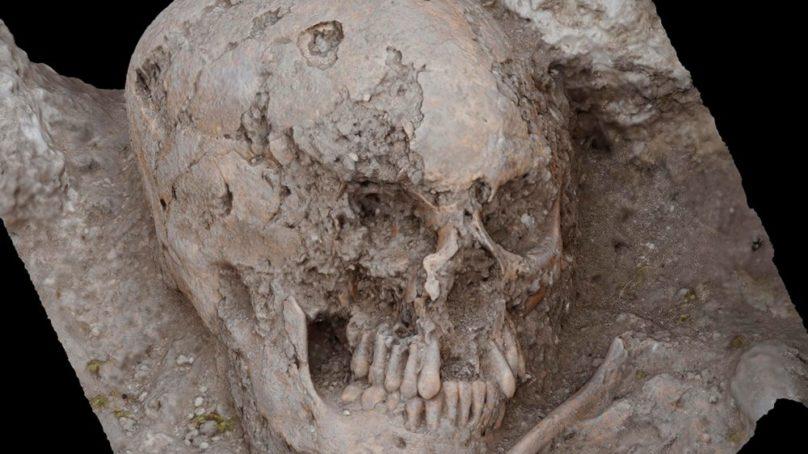 Obtienen el modelo en 3D del enterramiento visigodo del yacimiento arqueológico de Marroquíes Bajos