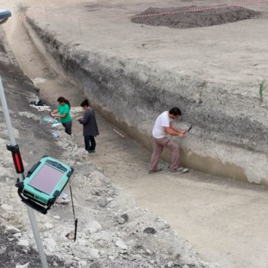 Investigan los restos de un santuario ibero vinculado a la antigua Ciudad de Cástulo