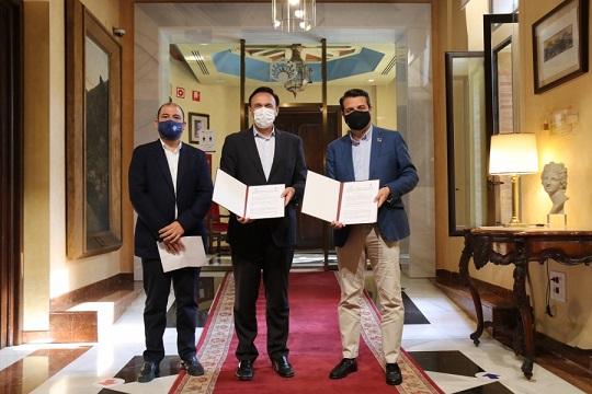 Nuevo acuerdo de prácticas académicas externas entre UCO y Ayuntamiento