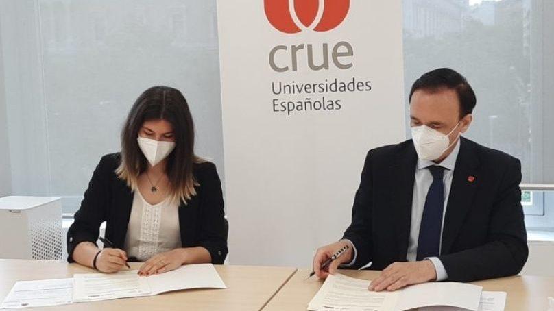 CREUP y CRUE renuevan su compromiso de colaboración para la mejora del sistema universitario