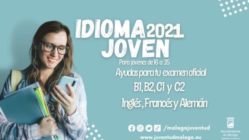 Abierto el plazo de las ayudas Málaga Idioma Joven 2021