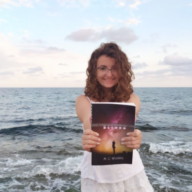 Escritora y apasionada de los idiomas, la nota más alta de selectividad en Málaga ya ha publicado su primer libro