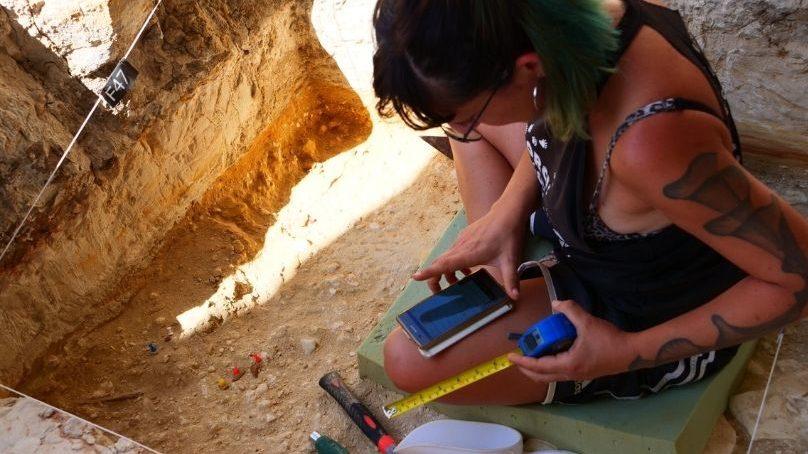 Un proyecto de investigación dirigido por la UGR descubre la cantera de piedra tallada más antigua de Europa