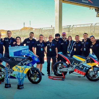UMA Racing Team revalida su título de campeón en MotoStudent 2021