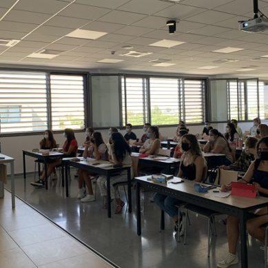 La Facultad de Ciencias de la Salud de la UAL estrena 10 nuevas aulas