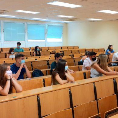 Más de 11.600 estudiantes de Grado comienzan las clases en la Universidad de Jaén