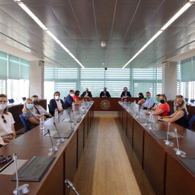 La UAL, sede de la primera reunión presencial de la Alianza AGR-EU