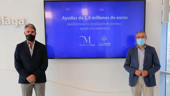 2,8 millones para promover la contratación de jóvenes y ayudar a los autónomos