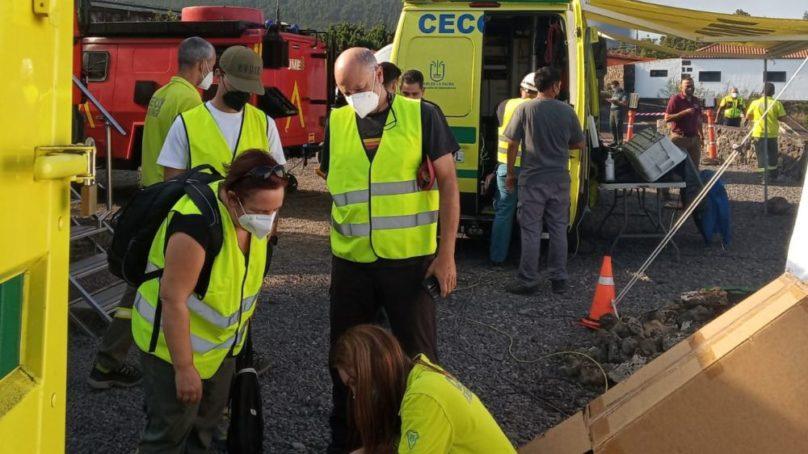 Científicos de la UGR se trasladan a la isla de La Palma para monitorizar la erupción del volcán