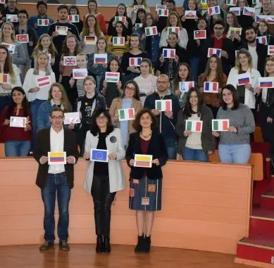 La UHU recibe a 350 estudiantes de programas de movilidad internacional