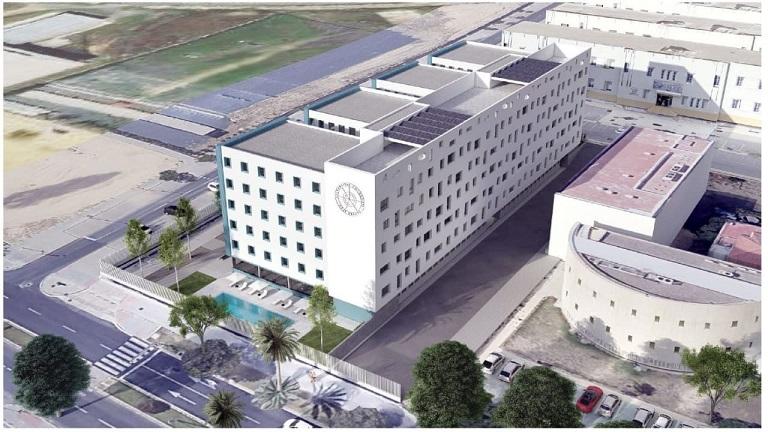 La UHU firma el contrato de adjudicación de la Residencia de Estudiantes