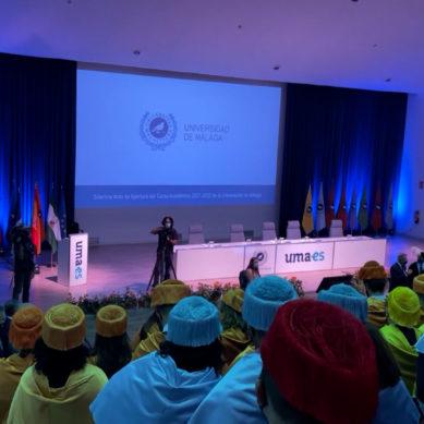La Universidad de Málaga inaugura oficialmente el curso 2021/2022