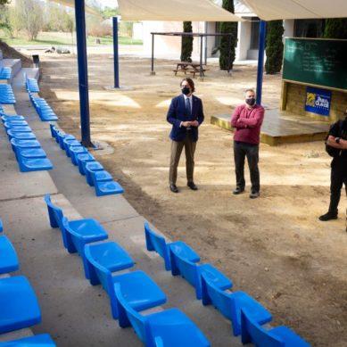 La UPO estrena cuatro aulas al aire libre