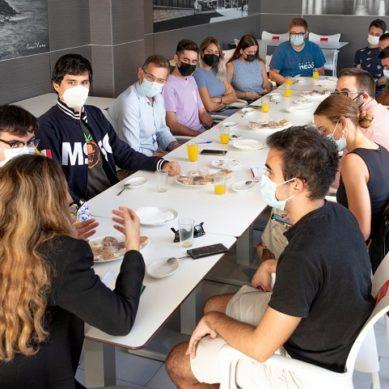 El CEUAL traslada las inquietudes de los estudiantes al PSOE-Andalucía