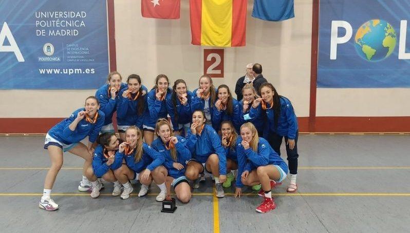 Bronce para el baloncesto femenino de la UMA en los Campeonatos de España Universitarios