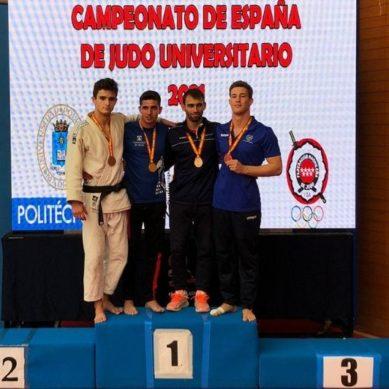 Un alumno de la UMA logra el bronce en Judo en el Campeonato de España Universitario