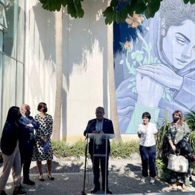 Unicaja Banco colabora con la UMA en dos nuevos murales en el campus de Teatinos