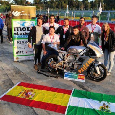 El equipo EPSJaén UJATeam calienta motores en la 'Moto Engineering Italy'