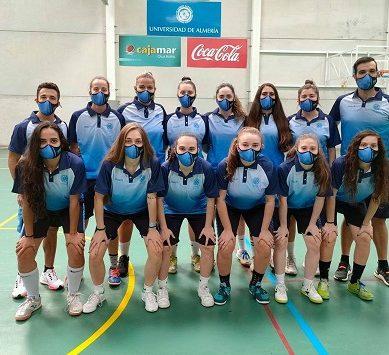 La selección femenina de fútbol sala UAL debuta en los CEU 2021 con ilusión