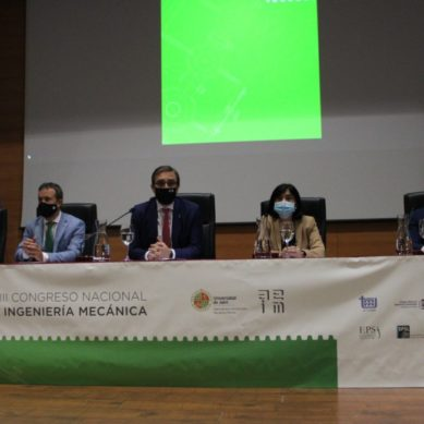 Más de 200 expertos se reúnen en la UJA para asistir al Congreso Nacional de Ingeniería Mecánica