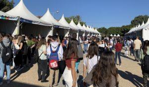 Los estudiantes vuelven a verse las caras en la Jornada de Bienvenida UAL 2021