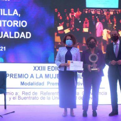 La US es reconocida con el Premio a la Mujer Sevillana por su defensa en al ámbito de la igualdad