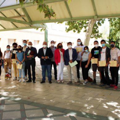 Estudiantes de la UJA realizan tareas de recuperación, conservación y catalogación en el yacimiento de Cástulo
