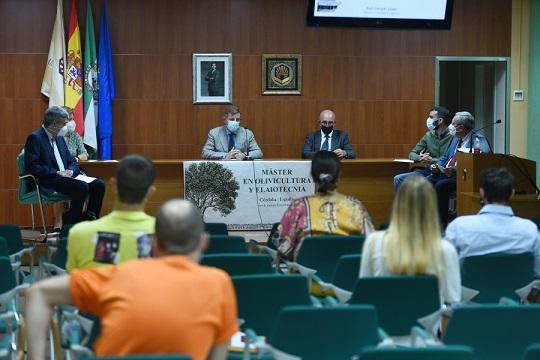 La UCO inaugura el XIV Máster en Olivicultura y Elaiotecnia
